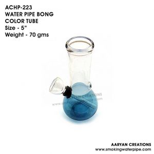 ACHP-223 WATER PIPE BONG COLOR TUBE