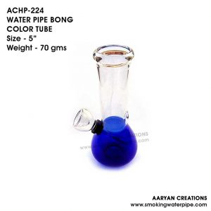 ACHP-224 WATER PIPE BONG COLOR TUBE