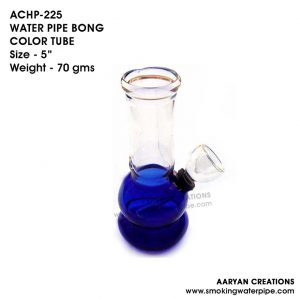 ACHP-225 WATER PIPE BONG COLOR TUBE