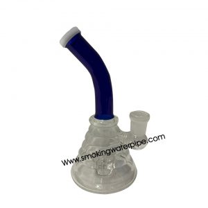 8 Inch long Lining Tube Smoking Water Pipe