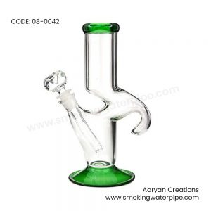 8 inch usa traveler green hook shap water pipe 19mm